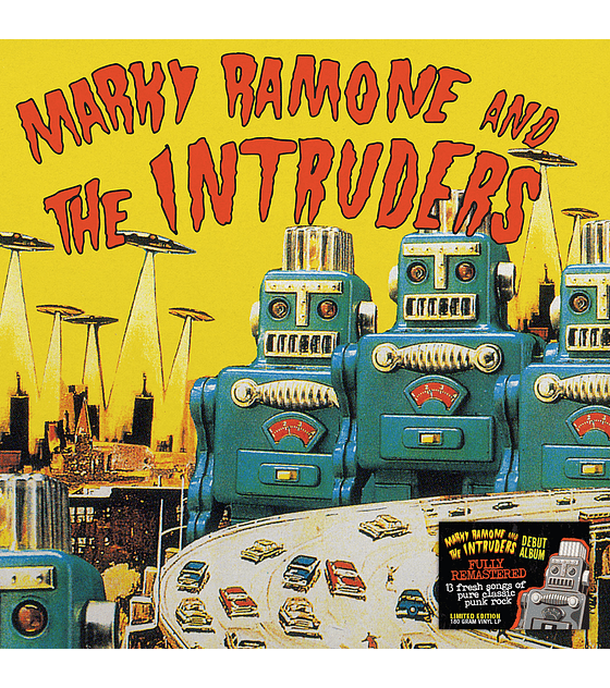 Marky Ramone & The Intruders  LP 12''