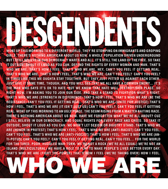 Descendents · Who We Are 7''