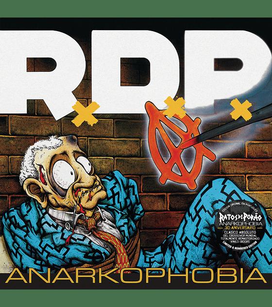 Ratos De Porado · Anarkophobia LP 12''