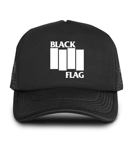 Gorro Black Flag Malla/Esponja