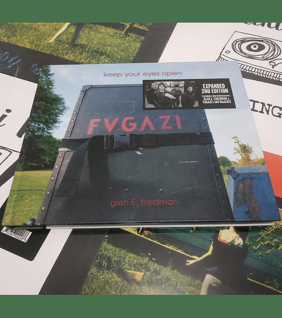 Fugazi Keep Your Eyes Open: The Fugazi Photographs Libro.