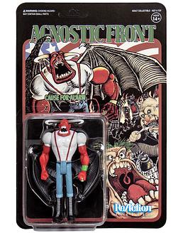 Agnostic Front Figura Original · Eliminator (Importada)