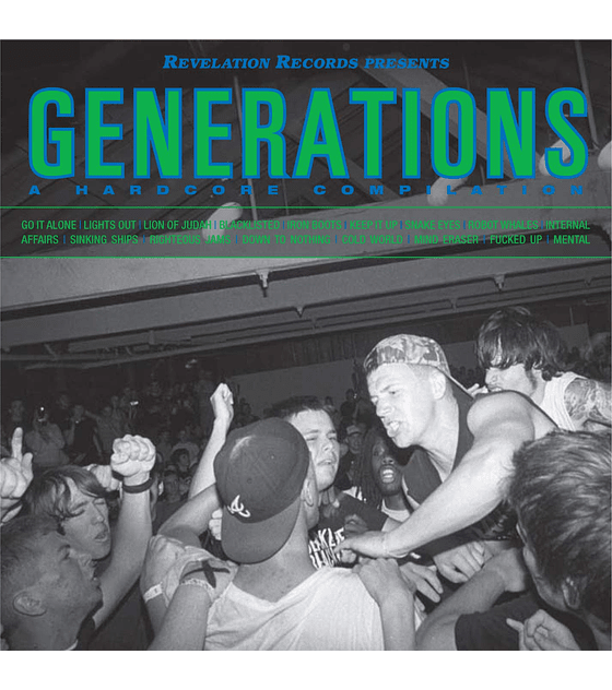 Generations · A Hardcore Compilation CD