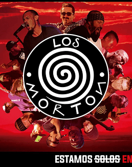 Los Morton · Estamos S̶o̶l̶o̶s̶ En Vivo LP 12''