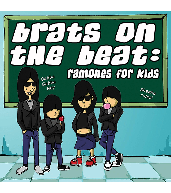 V/A · Brats On The Beat: Ramones For Kids CD