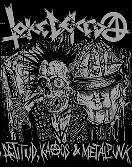 Toke De Keda · Actitud, KaAos & Metalpunk CD