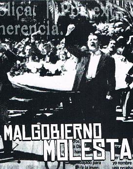 Malgobiermo · Molestar CD