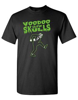 Polera voodoo glow skulls