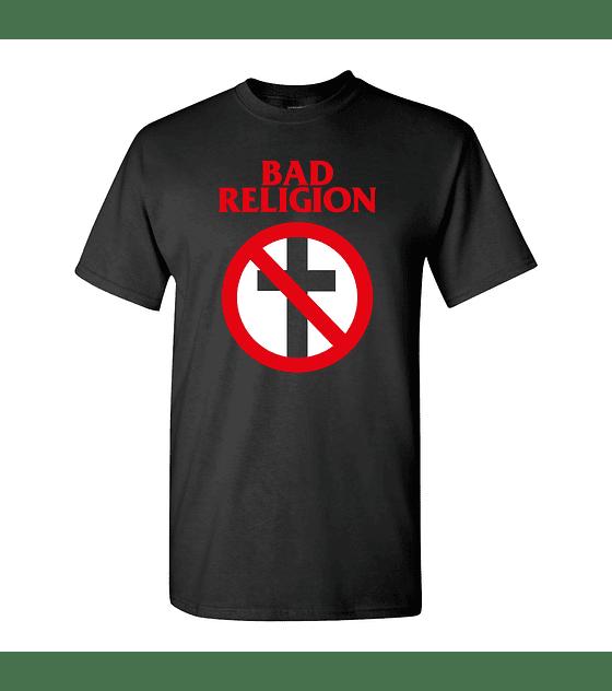 Polera M/C Bad Religion · Logo
