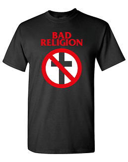 Polera bad religion clásica