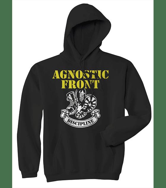 Poleron canguro agnostic front · discipline