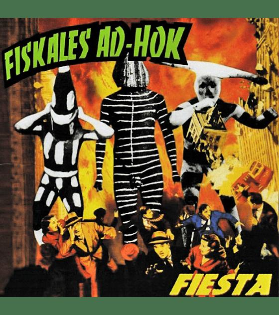 Fiskales ad-hok · fiesta vinilo 10''