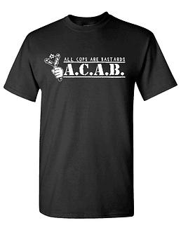 Polera M/C A.C.A.B. All Cops Are Bastards II