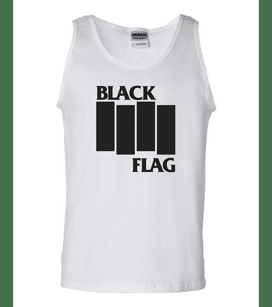 Musculosa black flag clásico