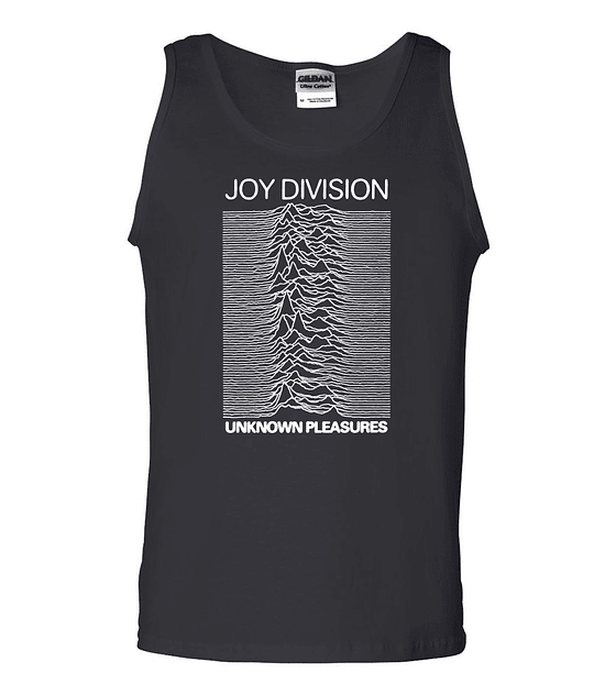Polera Musculosa Joy Division · Unknown pleasures