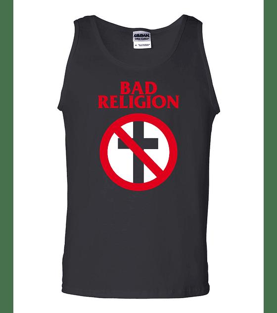 Polera Musculosa Bad Religion · Logo