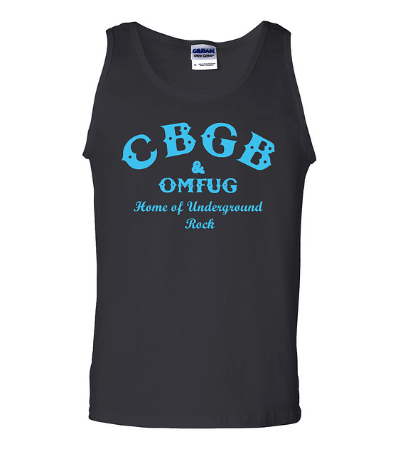Musculosa CBGB · home of underground rock