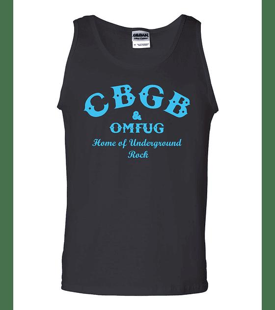 Polera Musculosa CBGB · Home Of Underground Rock