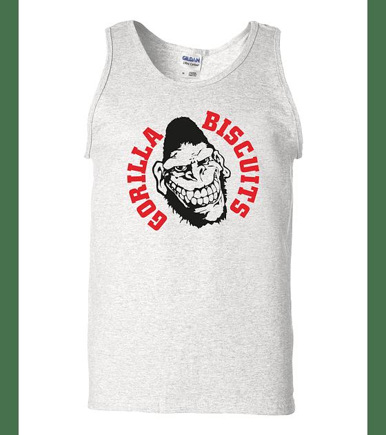 Polera Musculosa Gorilla Biscuits · Logo