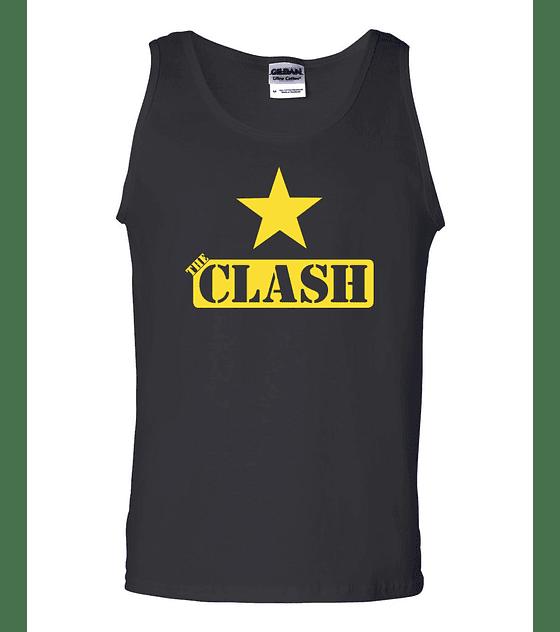 Polera Musculosa The Clash · Star