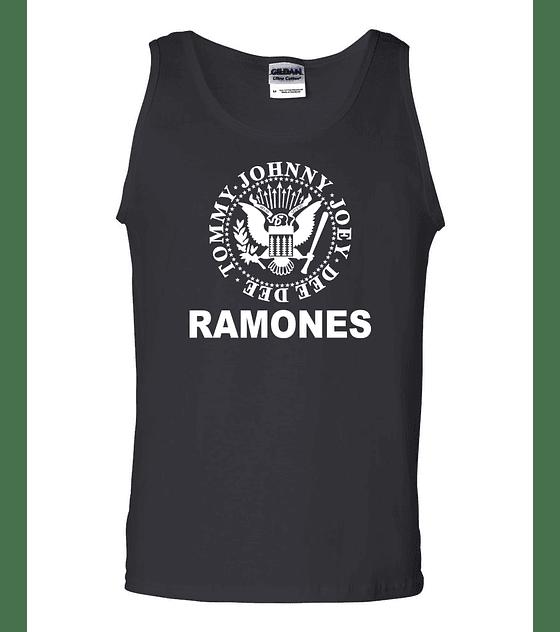 Polera Musculosa The Ramones · Logo
