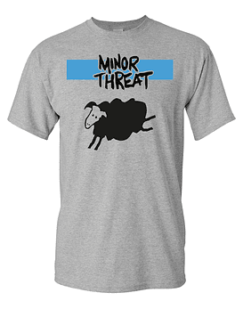 Polera Minor Threat