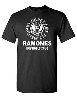 Polera The Ramones · Hey Go! Let's Go