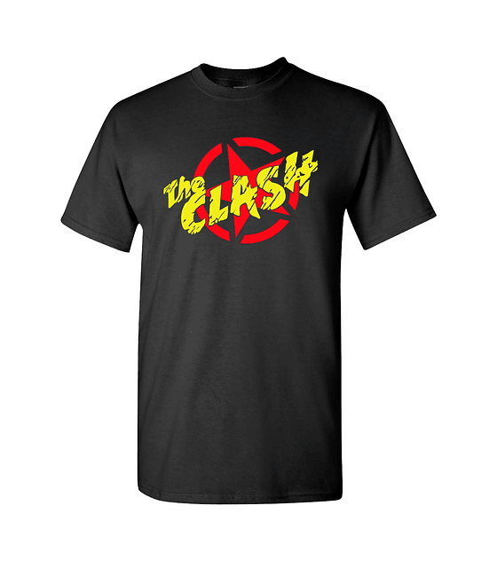 Polera The Clash