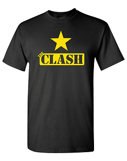Polera The Clash Star II