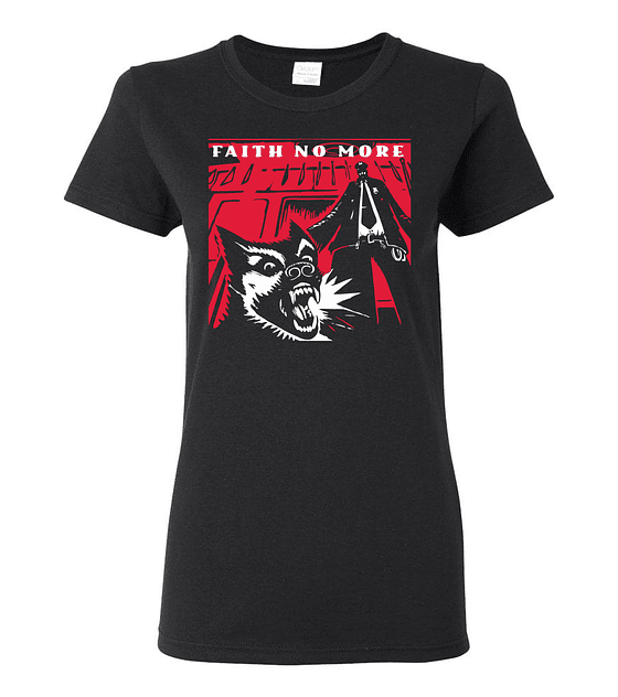 Polera Mujer Faith No More · King For A Day... Fool For A Lifetime