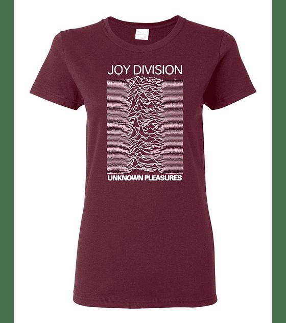Polera Mujer Joy Division · Unknown Pleasures
