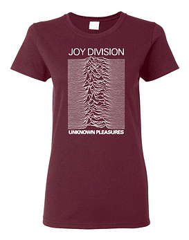 Polera Mujer Joy Division · Unknown Pleasures