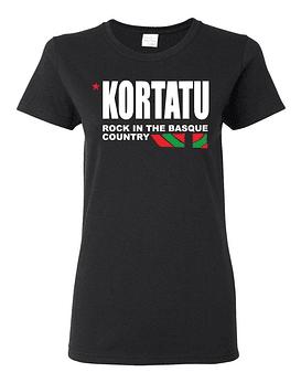 Polera Mujer Kortatu · Rock In The Basque Country