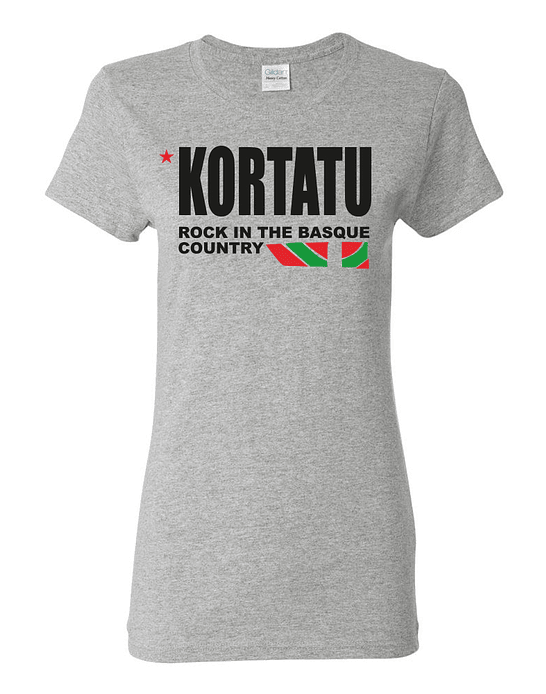 Polera Mujer Kortatu · Rock In The Basque Country