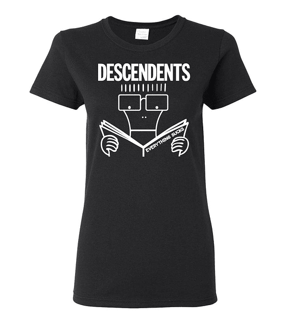 Polera Mujer Descendents Everything Sucks