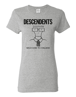 Polera Mujer Descendents Milo Goes To College