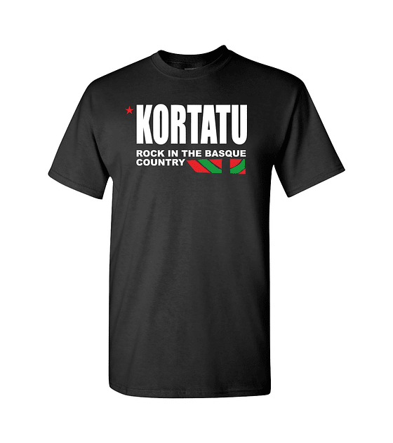 Polera M/C Kortatu · Rock In The Basque Country