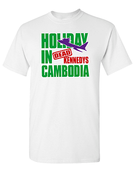 Polera Dead Kennedys · Holiday In Cambodia
