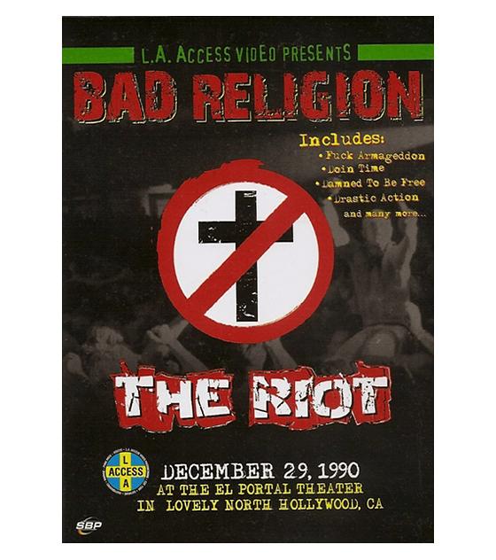 Bad Religion · The Riot, December 1990 - Dvd