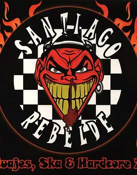 Santiago Rebelde · Tatuajes, ska y hardcore 2.0 Cd caja transparente