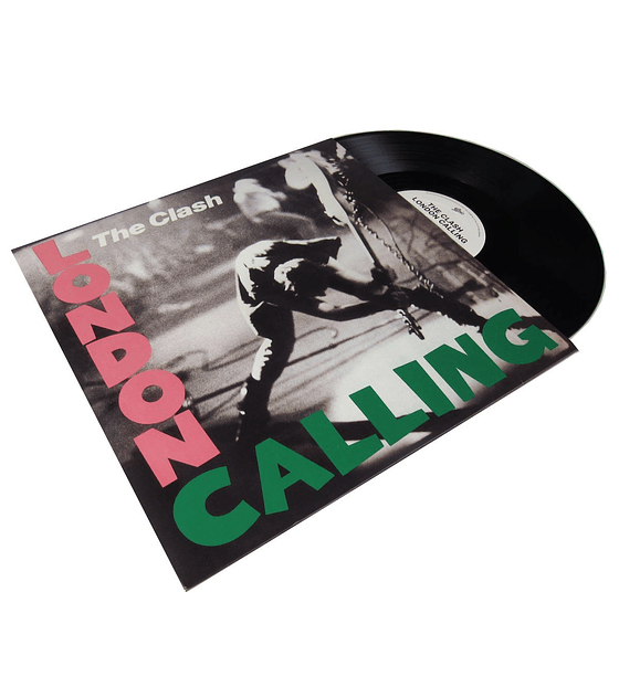 The Clash · London Calling vinilo doble 12''