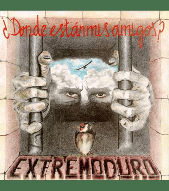 Extremoduro · ¿Dónde están mis amigos? vinilo 12''