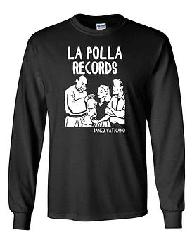 Polera m/l La Polla Records · Banco Vaticano