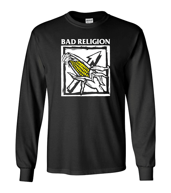 Polera m/l Bad Religion · against the grain