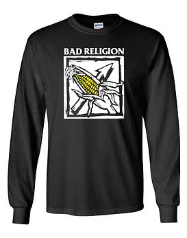 Polera m/l Bad Religion · against the grain