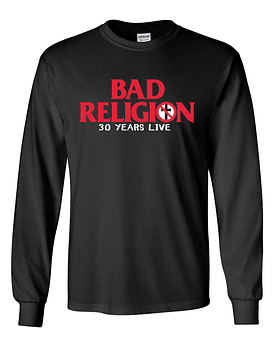 Polera m/l Bad Religion · 30 years