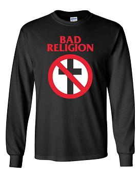 Polera m/l Bad Religion · Clásica