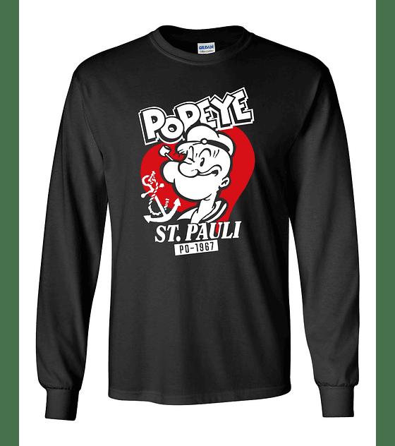 Polera m/l St. Pauli · 1967 Popeye