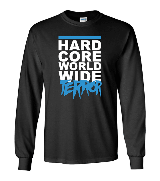 Polera m/l Terror · World Wide
