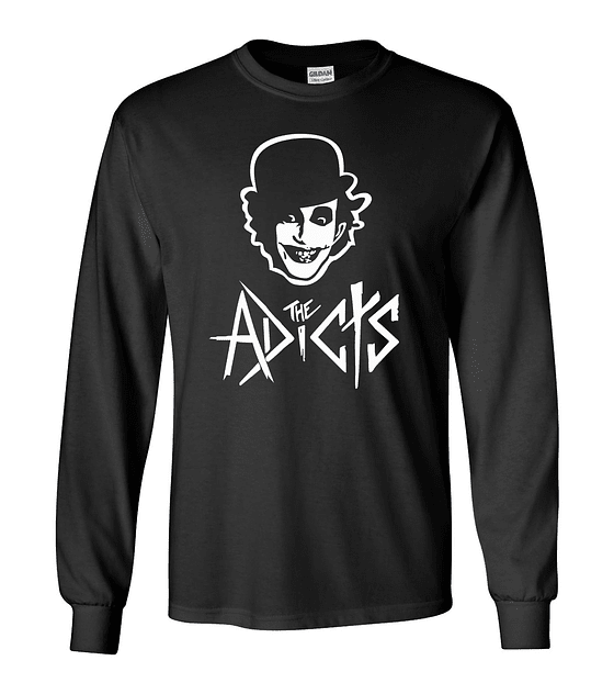 Polera m/l The Adicts